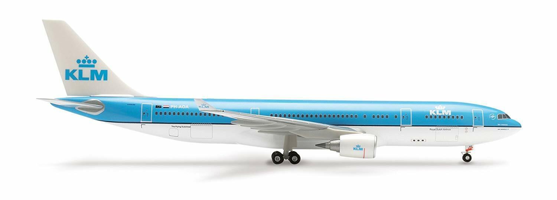 HERPA WINGS 551847 1 200 KLM AIRbus A330-200 OVP TOP
