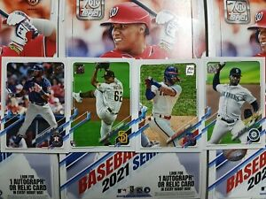 2021 Topps Baseball (166-330) COMPLETE YOUR SET - YOU PICK FROM LIST