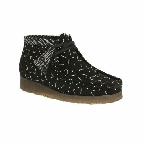 4 Blanco Clarks Originals Multi D Uk 6 Ut X 5 Negro Boot para mujer Wallabee rfvwxZ8rq