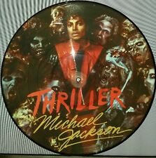 MICHAEL JACKSON THRILLER, 180 GRAM PICTURE DISC VINYL LP RECORD NEW IMPORT