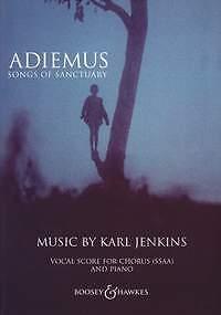 ADIEMUS Songs of Sanctuary Jenkins Vocal Score