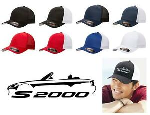 Honda-S2000-Sports-Car-Classic-Color-Outline-Design-Hat-Cap