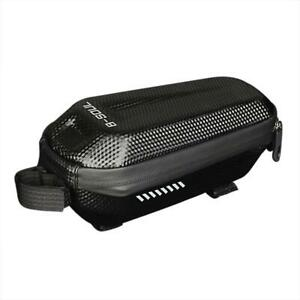Waterproof Mountain Bicycle Hard Shell Front Tube Bag Cycling Accessories NI5L