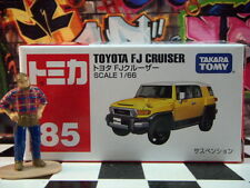 TOMICA #85 TOYOTA FJ CRUISER 1/66 SCALE NEW IN BOX