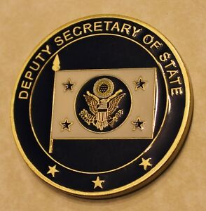 Details about Deputy Secretary of State Challenge Coin