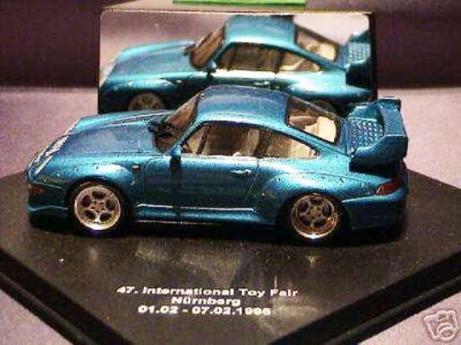 SCARCE VITESSE PORSCHE 911 993 GT2 47TH 1996 NUREMBURG Spielzeug SHOW 1 43 LTD EDT