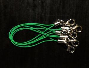 5-Baender-Band-fuer-Anhaenger-gruen-Handy-Schmuck-Charm-USB-Stick-neu