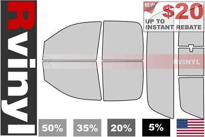 20/% 4 Door Rtint Window Tint Kit for Dodge Ram 2002-2008 - Front Kit