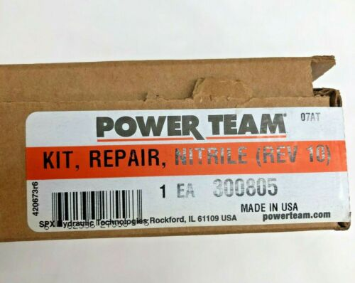Single-Acting Details about  /300805 SPX Power Team Seal Kits for Hydraulic PA6 Series Air Pump