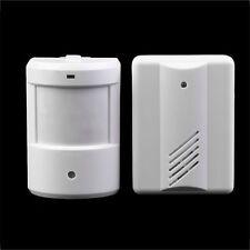 Driveway Patrol Garage Infrared Wireless Doorbell Alarm System Motion Sensor RX