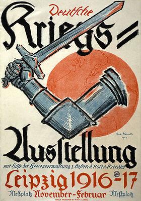 WA53 Vintage WWI German Spoils Of Air War Fund Raising Poster Print WW1 A1 A2 A3
