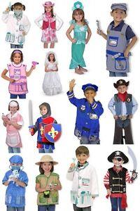 melissa doug costume bundle lot pick 2 princess mermaid knight