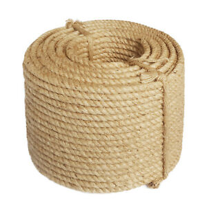 sisalseil 6mm 100m sisal seil minitrossen rope naturseil. Black Bedroom Furniture Sets. Home Design Ideas