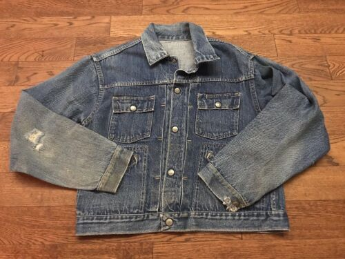 Vintage 60's 70's JC Penny Foremost Denim Jacket -