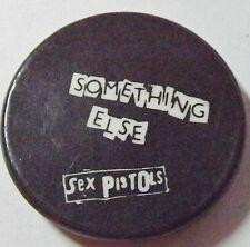 """SEX PISTOLS Something Else Old Vtg 1970`s Button Pin Badge(25mm-1"""") #SP.104"""