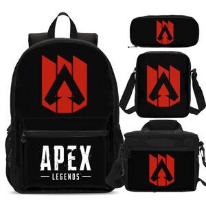 0ad488606ced Details about APEX Legend Big Bookbag Backpacks Insulated Lunch Bag Pen  Case Shoulder Bags Lot