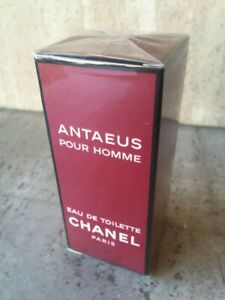 VINTAGE ANTAEUS CHANEL EAU DE TOILETTE 50ml SPLASH PRE-BARCODE SEALED