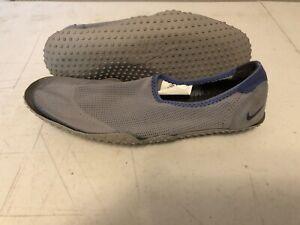 Details about Nike ACG Size 8 Slip on Blue Aqua Sock Mens Shoe Hiking Water  Shoe Flaws
