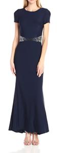 NWT JS Boutique Woherren Short Sleeve Jersey Gown Größe 2