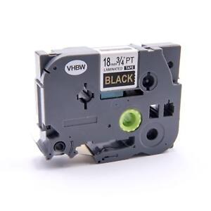 CASSETTA NASTRO O/N 18mm VHBW per Brother 350 / 3600 / 540 / 550