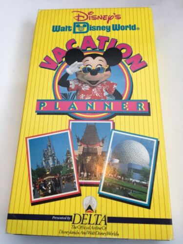 1993 Walt Disney World Vacation Planner VHSTESTEDFAST SHIPCOLLECTIBLE VINTAGE