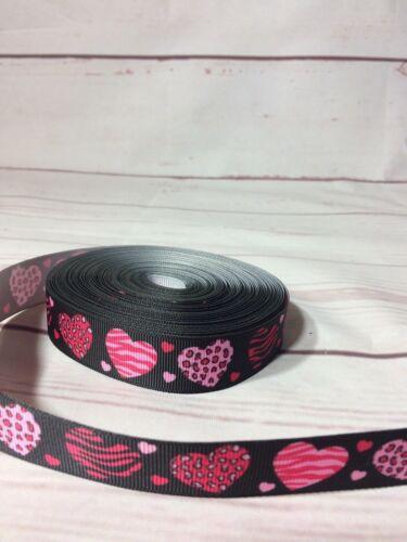 Ribbon grosgrain hair bow diy party decorations 22mm aztec batman paw patrol