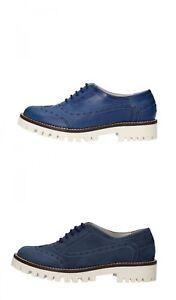 Caricamento dell immagine in corso OLGA-RUBINI-scarpe-donna-classiche-blu- pelle-e- 4d9161b5fcc