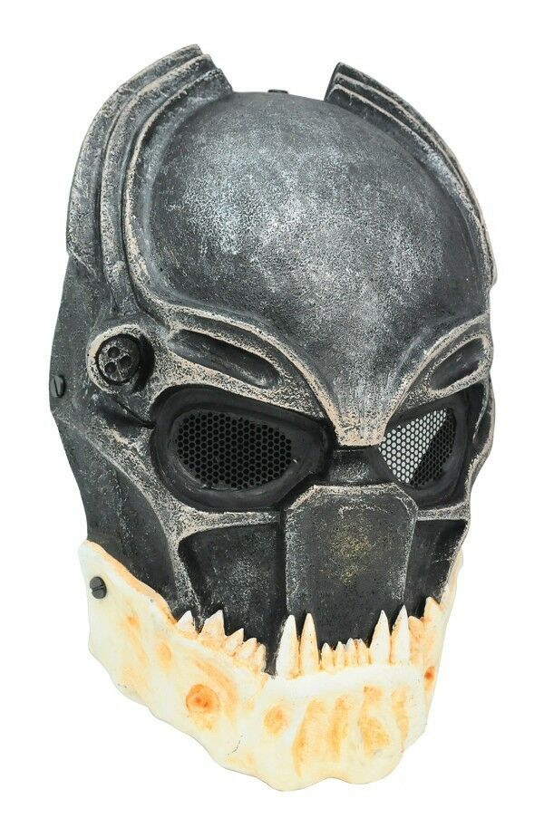 Paintball Airsoft Full Face Predection Alien Vs Predator Mask Cosplay Prop A699
