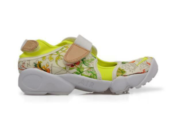 Womens Nike Air Rift Liberty QS - - White Volt Vanchetta Trainers