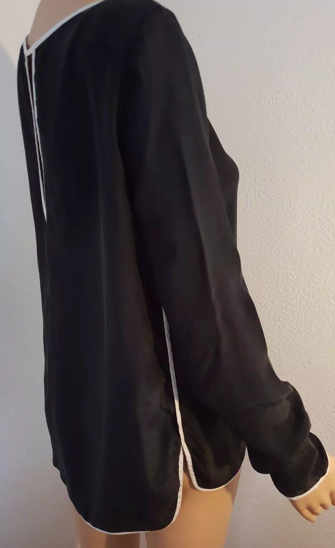 1881 Cerruti schwarz Blouse Größe S , 100% silk