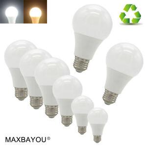 E27-LED-Lights-Globe-Bulbs-3W5W7W9W12W15W18W20W-Edison-Screw-Cap-CoolWarm-White
