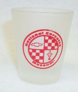 National-Corvette-Museum-Frosted-Souvenir-Shot-Glass