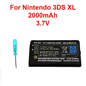 OEM-Battery-Replacement-Tool-For-Nintendo-3DS-XL-2000mAh-3-7V-Rechargeable-New
