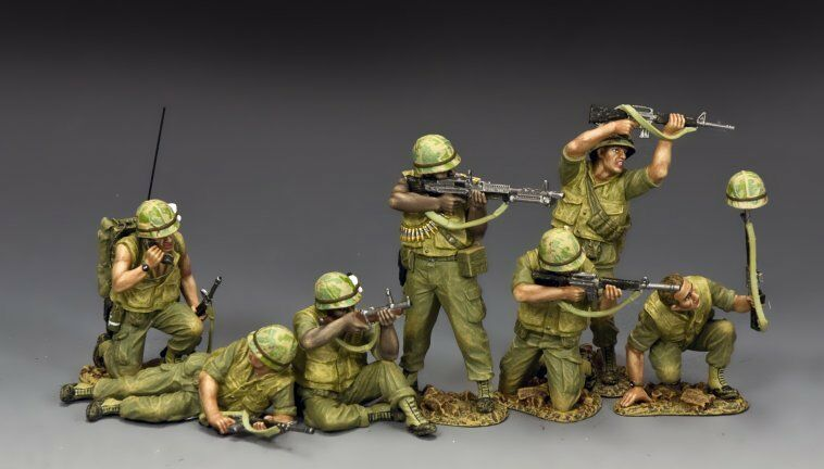 VN-S01 King & Country Vietnam War  TET' 68 Bonus Set  Toy Soldier Miniatures NEW