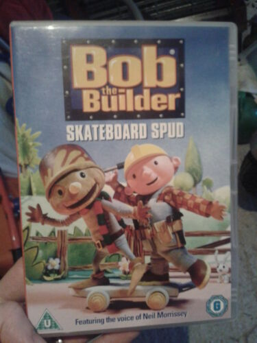 1 of 1 - Bob The Builder - Skateboard Spud (DVD, 2005)