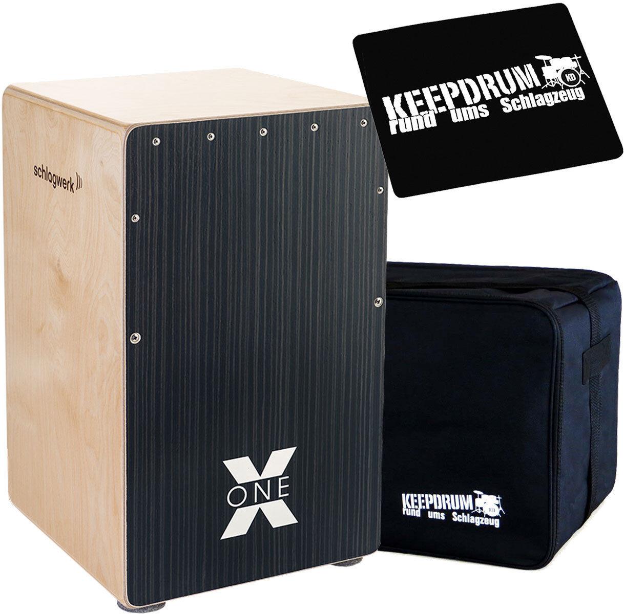 Schlagwerk CP118 X-One Fingerprint  Medium keepdrum Gig Bag Pad CP-01