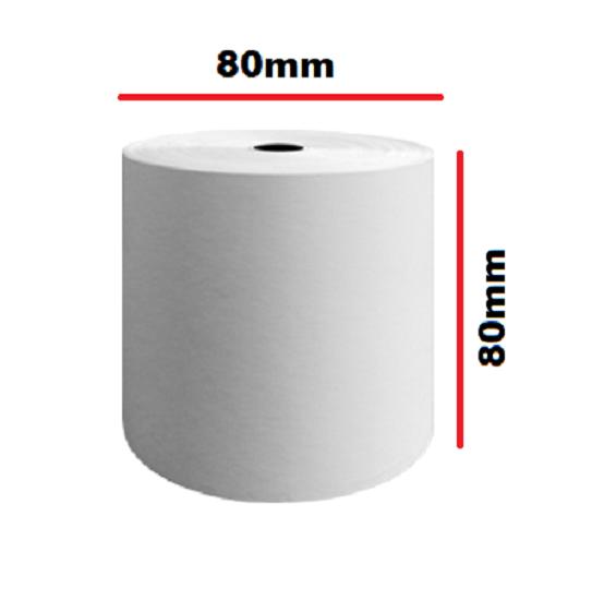 30 Rollos 80 x 80mm Térmico Papel Caja Rollos Caja Registradora Factura 80mm