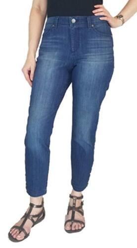 NWT Womens Hyde LISBETH BANDOLINO Curvy Skinny Crop Pants Size 8