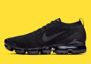 Details about Nike Air Max Vapormax Flyknit 3 Triple Black Size 10. AJ6900 004