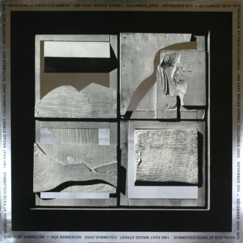 100 Louise Nevelson 1975 End of Day Foil Prints