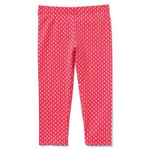 NWT Gymboree Pink Capri Cropped Leggings Kid Girls 4,5//6,7//8,10//12,14