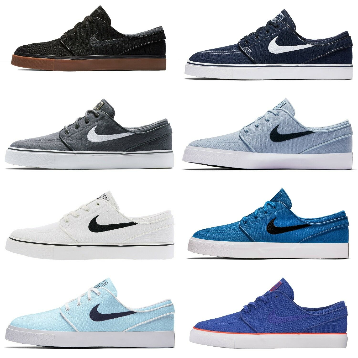 NIKE ZOOM STEFAN JANOSKI CANVAS SHOES SKATE SHOE TRAINERS Textile best-selling model of the brand