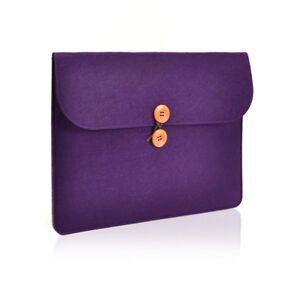 a1490fb6c9f5 Details about UNIK CASE-Felt Laptop Sleeve Bag Case Cover for All 13