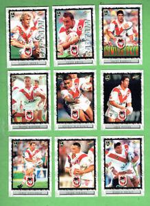 2000-ST-GEORGE-ILLAWARRA-NRL-RUGBY-LEAGUE-CARDS