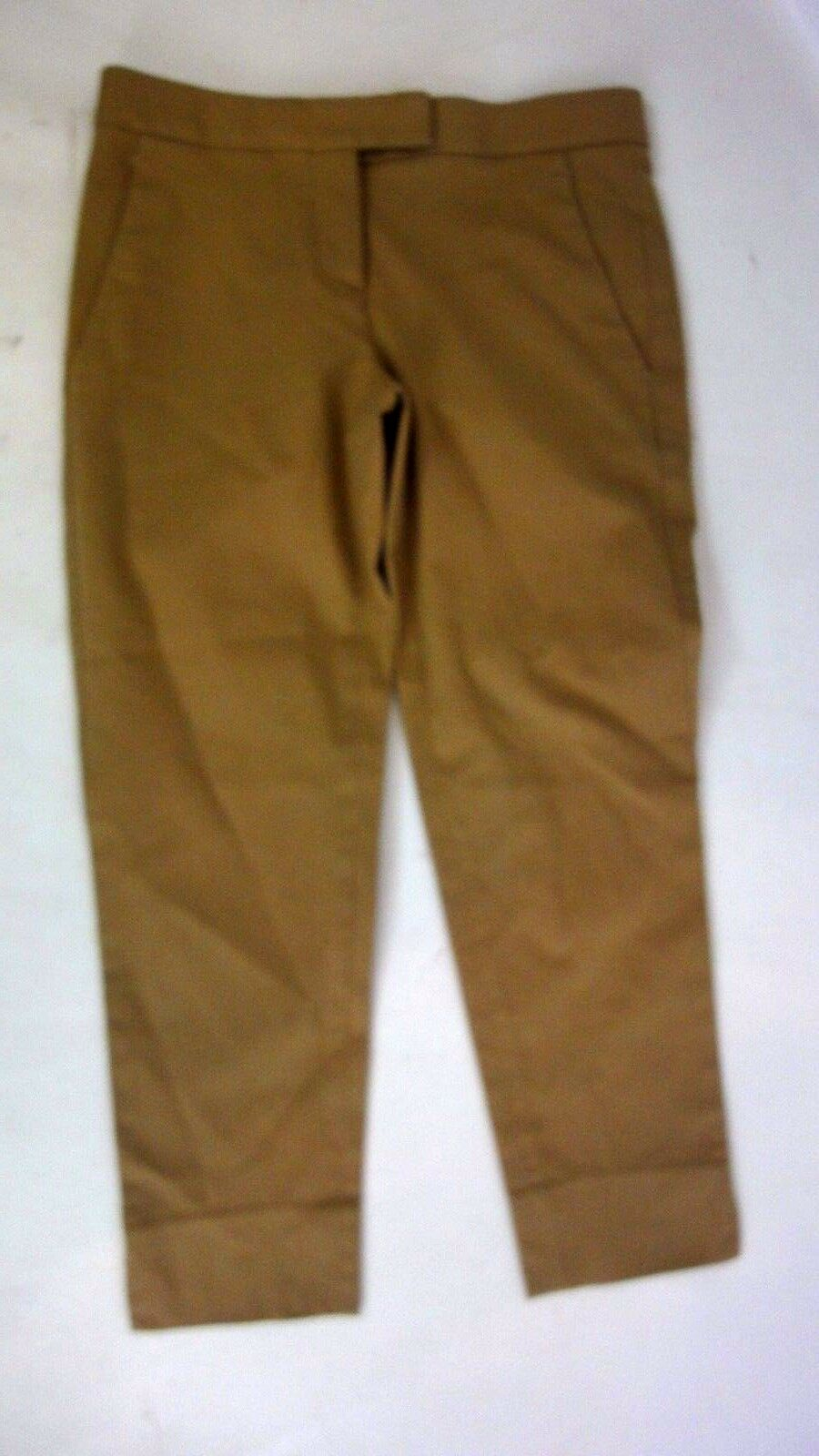 THEORY Tan Capri Pants Sz 00