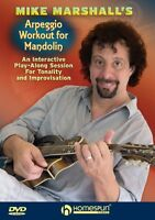 Mike Marshall's Arpeggio Workout For Mandolin An Interactive Play-alon 000642157