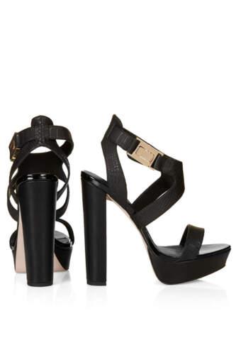 8 Link Sandals Black Uk In Platform New Topshop xp8XX
