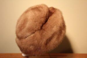 Image is loading Vintage-Mink-Fur-Hat 46859cb1a99
