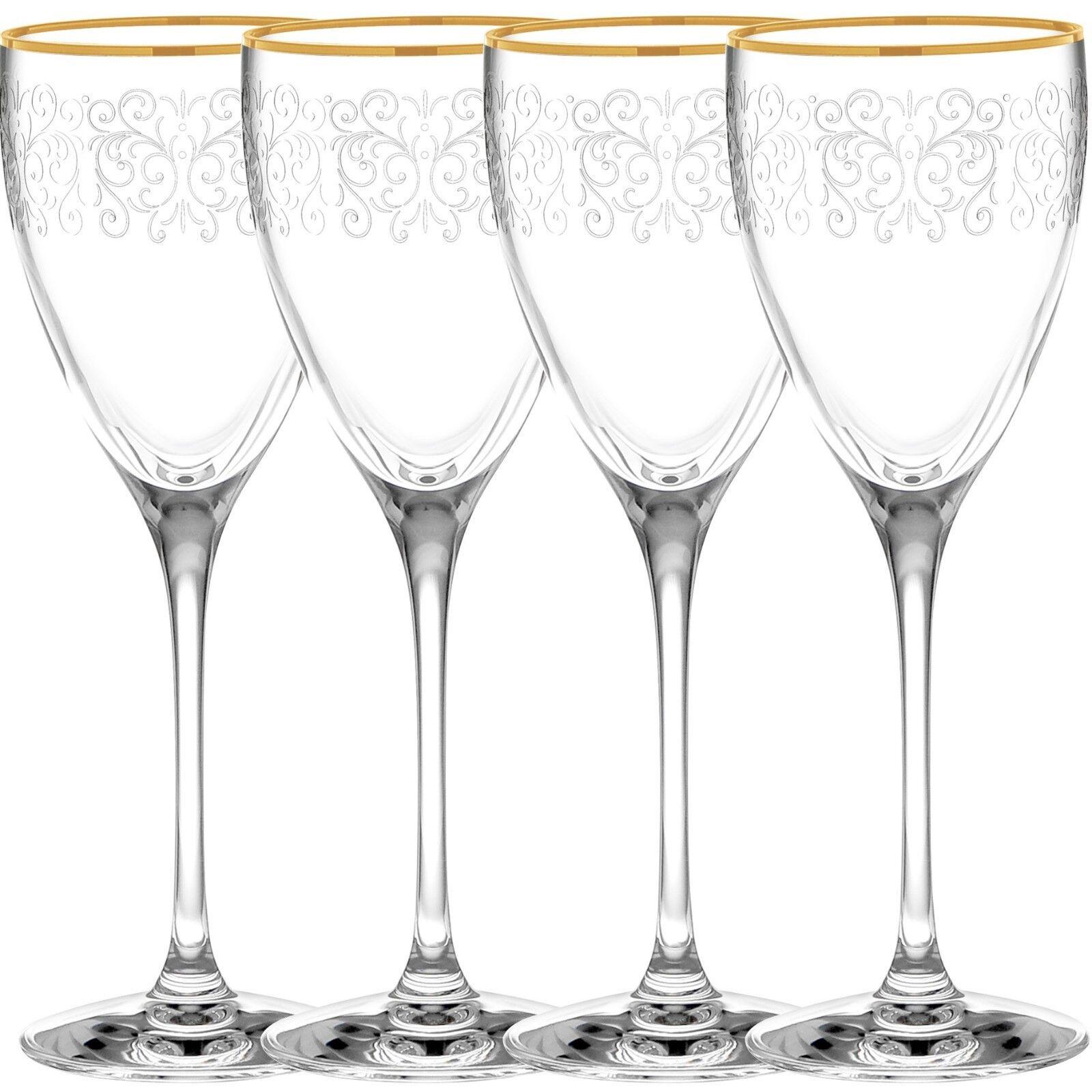NORITAKE Odessa or verres à vin, set de 4