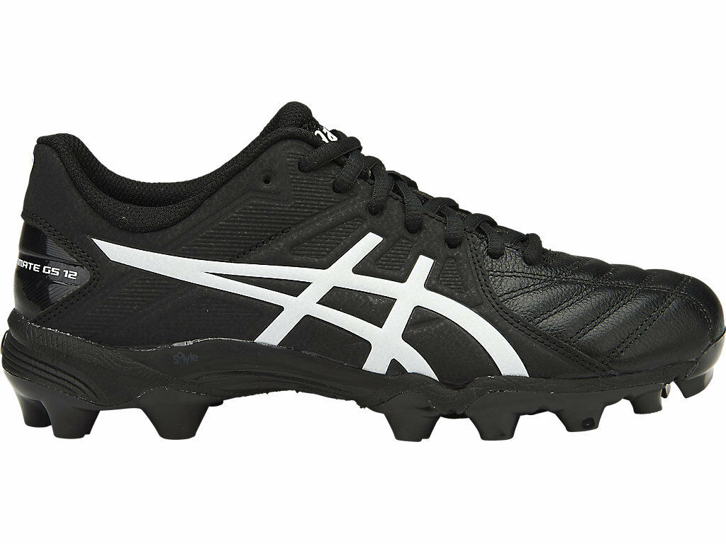 * NEW * Asics Gel Lethal Ultimate GS 12 Kids Stivali Football Stivali Kids (9001) 16341c